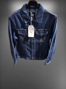 Giacca di jeans roy rogers uomo