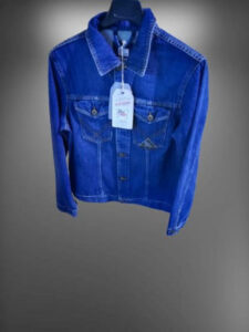 Giacca jeans uomo Roy rogers