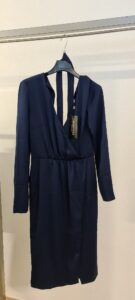 Guess by marciano abito blu bianco